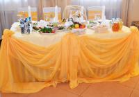 Свадьба в золотом в ресторане Мики